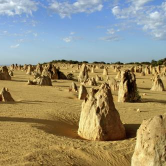 Naturwunder Pinnacles im Nambung Nationalpark in Westaustralien