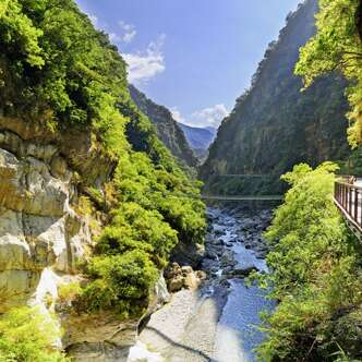 Schluchten des Taroko-Nationalparks in Taiwan