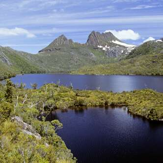 Im Nationalpark Cradle Mountain auf Tasmanien